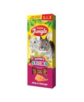 Happy Jungle Палочки для кроликов, шиншилл и морских свинок Мед и овощи 3шт