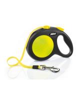 FLEXI New Neon L 5м до 50кг ременной поводок-рулетка для собак