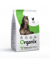 Organix Корм для кошек Курица, утка и лосось