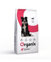 Organix Корм для собак Ягненок с рисом