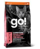 GO! CARNIVORE Беззерновой корм для котят и кошек Лосось и Треска