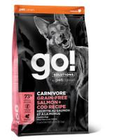 GO! CARNIVORE Корм беззерновой для собак всех возрастов c Лососем и Треской