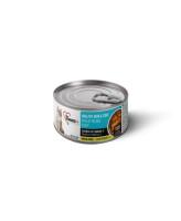 1st Choice консервы для кошек беззерновые Skin&Coat Сардина с макрелью в масле тунца 85г