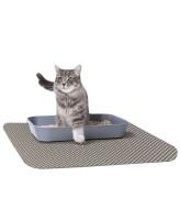 Зверьё моё Коврик для кошачьего туалета бежевый 60*75см