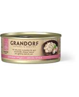 Grandorf Консервы для кошек Куриная грудка с мясом краба 70г