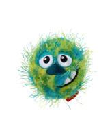 GiGwi Мяч теннисный Grazy Ball с пищалкой, зеленый 7см