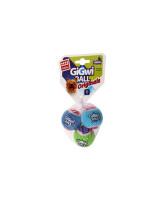 GiGwi Три мяча теннисных с пищалкой 4см