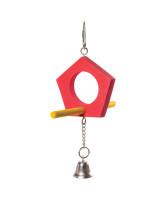 Triol Игрушка для птиц Качели-домик, 175/205*125мм