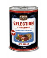 Solid Natura Selection консервы для собак Говядина 970г