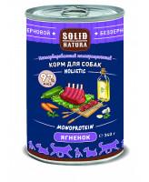 Solid Natura Holistic консервы для собак Ягнёнок