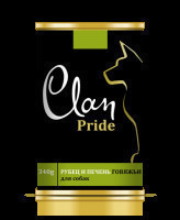CLAN PRIDE консервы для собак Рубец и печень говяжья 340г