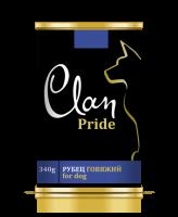 CLAN PRIDE консервы для собак Рубец говяжий 340г