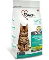 1st CHOICE корм для кастрированных кошек и склонных к полноте, цыпленок Weight Control