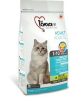 1st CHOICE корм для кошек Здоровая кожа и шерсть, лосось Healthy Skin&Coat