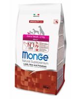 Monge Dog Speciality Extra Small Adult корм для собак миниатюрных пород Ягненок рис и картофель