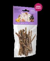 Little One Лакомые ветви c лепестками и травами для всех видов грызунов 35г