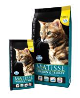 Farmina Matisse Chicken & Turkey Корм для кошек кошек Курица и Индейка