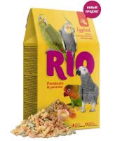 RIO Яичный корм для средних и крупных попугаев 250г