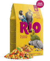 RIO Гурмэ корм для средних и крупных попугаев 250г