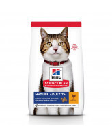HILL'S Science Plan Mature Adult 7+ корм для пожилых кошек, с тунцом 1,5кг