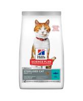 HILL'S Science Plan Sterilised Young Adult корм для стерилизованных кошек до 6 лет, с тунцом