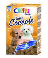 Cliffi Мясные бисквиты для щенков Baby Coccole 300г