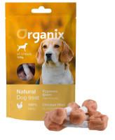 """Organix Лакомство для собак """"Куриные гантельки"""" (100% мясо) 100г"""