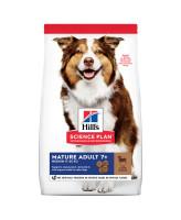 HILL'S Science Plan Medium Mature Adult 7+ корм для собак средних пород 7+, с ягненком и рисом