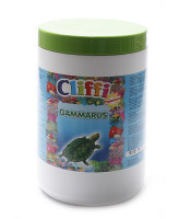 Cliffi Gammarus Корм для черепах, большие сушеные креветки