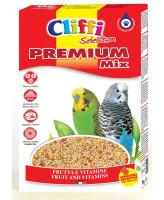 Cliffi Корм для волнистых попугаев Premium Mix 800г