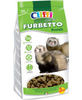 Cliffi Корм для хорьков протеиновый Furbetto proteic 800г