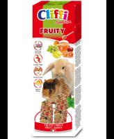 Cliffi Палочки с фруктами и медом для морских свинок и кроликов Sticks 110г