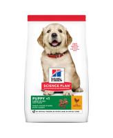 HILL'S Science Plan Large Puppy корм для щенков крупных пород, с курицей