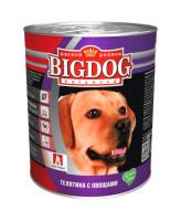 Зоогурман Big Dog консервы для собак 850г Телятина с овощами