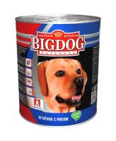Зоогурман Big Dog консервы для собак 850г Ягненок с рисом