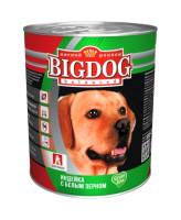 Зоогурман Big Dog консервы для собак 850г Индейка с белым зерном