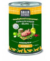 Solid Natura Holistic консервы для кошек Курица, банка