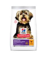 HILL'S Science Plan Sensitive Stomach & Skin корм для собак чувствительное пищеварение и кожа