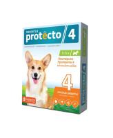 Neoterica Protecto Капли на холку от блох и клещей для собак весом 10-25кг, 2 пипетки
