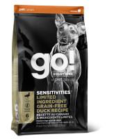 GO! SENSITIVITIES Корм беззерновой для щенков и собак со свежей Уткой для чувст. пищеварения