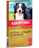 Адвантикс XXL капли для собак от 40 до 60кг от блох и клещей