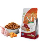 Farmina N&D PUMPKIN Беззерновой корм для  стерилизованных кошек Перепел с гранатом и тыквой