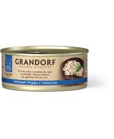 Grandorf Консервы для кошек Куриная грудка с сибасом 70г