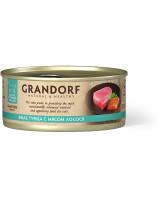 Grandorf Консервы для кошек Филе тунца с мясом лосося 70г