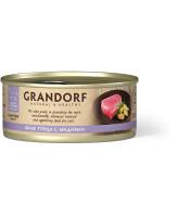 Grandorf Консервы для кошек Филе тунца с мидиями 70г