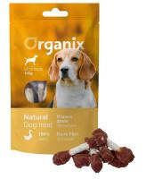 """Organix Лакомство для собак """"Утиные гантельки"""" (100% мясо) 100г"""