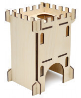 Zooexpress Домик для грызунов Замок большой, фанера 13*11*18 см