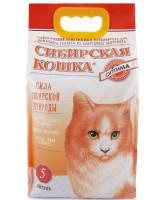 Сибирская кошка Комкующийся наполнитель Оптима