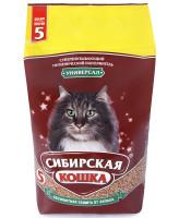 Сибирская кошка Впитывающий наполнитель Универсал