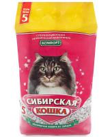 Сибирская кошка Впитывающий наполнитель Комфорт